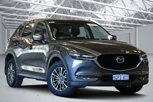 Used Mazda CX-5 MY18 (KF Series 2) Maxx Sport (4x4) Perth Airport, 2018 Mazda CX-5 MY18 (KF Series 2) Maxx Sport (4x4) Machine Grey 6 Speed Automatic Wagon