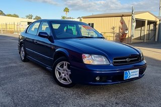 2000 Subaru Liberty B3 MY00 Heritage AWD Blue 4 Speed Automatic Sedan.