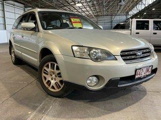 2006 Subaru Outback B4A MY06 Duotone AWD Silver 4 Speed Sports Automatic Wagon.
