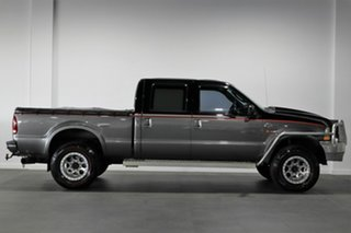 2004 Ford F350 XLT 4x4 Grey 4 Speed Automatic Cab Chassis