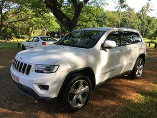 2015 Jeep Grand Cherokee WK MY15 Laredo (4x2) White 8 Speed Automatic Wagon