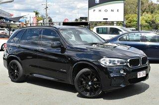 2015 BMW X5 F15 MY15 xDrive30d Black 8 Speed Automatic Wagon.