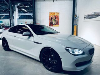 2012 BMW 6 Series F13 MY0312 640i Steptronic White 8 Speed Sports Automatic Coupe