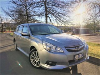2012 Subaru Liberty B5 MY12 2.5i Lineartronic AWD Silver 6 Speed Constant Variable Wagon.