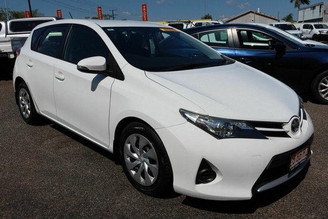 Used Toyota Corolla ZRE182R Ascent S-CVT Winnellie, 2015 Toyota Corolla ZRE182R Ascent S-CVT White 7 Speed Constant Variable Hatchback