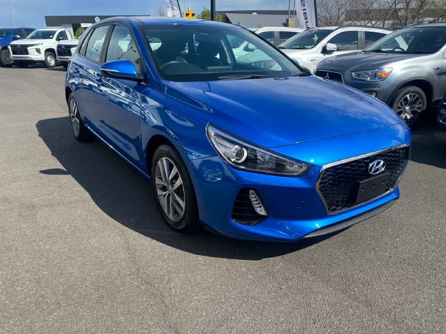 Used Hyundai i30 PD MY18 Active Essendon North, 2018 Hyundai i30 PD MY18 Active Blue 6 Speed Sports Automatic Hatchback