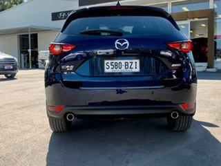 2019 Mazda CX-5 KF4W2A Akera SKYACTIV-Drive i-ACTIV AWD Blue 6 Speed Sports Automatic Wagon
