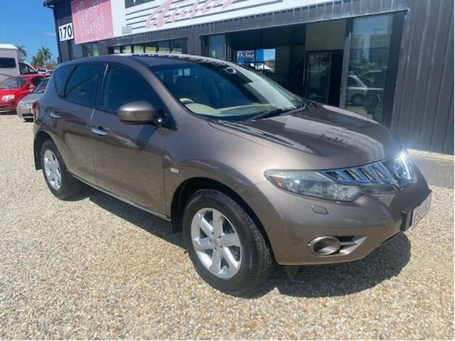 Used Nissan Murano Z51 ST Arundel, 2010 Nissan Murano Z51 ST Brown Continuous Variable Wagon