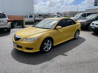 2003 Mazda 6 GG Luxury Yellow 4 Speed Auto Activematic Hatchback.