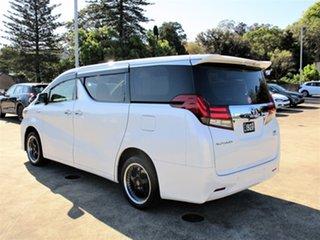 2015 Toyota Alphard Hybrid White 5 Speed Automatic Wagon