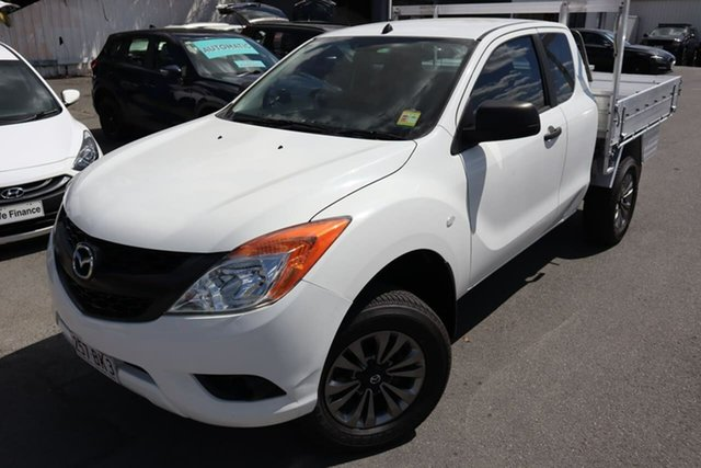 Used Mazda BT-50 UP0YF1 XT Freestyle 4x2 Hi-Rider Moorooka, 2012 Mazda BT-50 UP0YF1 XT Freestyle 4x2 Hi-Rider White 6 Speed Manual Cab Chassis