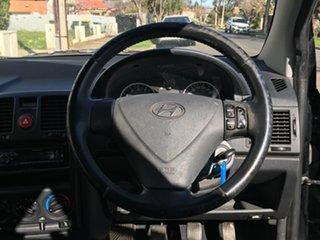2008 Hyundai Getz TB MY09 SX Black 5 Speed Manual Hatchback