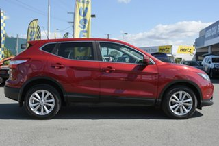 2014 Nissan Qashqai J11 TS Magnetic Red 1 Speed Constant Variable Wagon