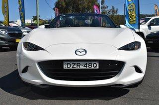 2015 Mazda MX-5 ND SKYACTIV-MT White 6 Speed Manual Roadster
