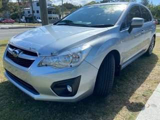 2015 Subaru Impreza G4 MY14 2.0i Lineartronic AWD Silver 6 Speed Constant Variable Hatchback.
