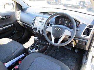 2010 Hyundai i20 PB Active Silver 4 Speed Automatic Hatchback.