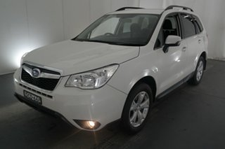 2015 Subaru Forester S4 MY15 2.0D-L AWD White 6 Speed Manual Wagon.