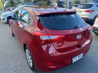 2016 Hyundai i30 GD4 Series II MY17 Active Scarlet Red 6 Speed Sports Automatic Hatchback