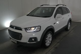 2016 Holden Captiva CG MY16 Active 2WD White 6 Speed Sports Automatic Wagon.