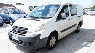 2010 Fiat Scudo Comfort Low Roof LWB White 6 Speed Manual Van.