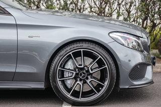 2017 Mercedes-Benz C-Class W205 807+057MY C43 AMG 9G-Tronic 4MATIC Selenite Grey 9 Speed