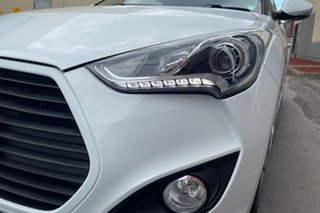 2013 Hyundai Veloster FS2 SR Coupe Turbo Pearl White 6 Speed Sports Automatic Hatchback