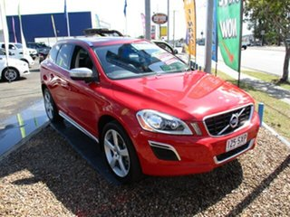 2012 Volvo XC60 R DESIGN Red 4 Speed Automatic Wagon.