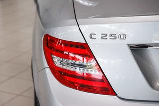 2014 Mercedes-Benz C-Class C204 MY14 C250 CDI 7G-Tronic Iridium Silver 7 Speed Sports Automatic