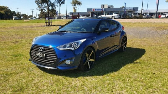 Used Hyundai Veloster FS5 Series II Street Coupe D-CT Melton, 2016 Hyundai Veloster FS5 Series II Street Coupe D-CT Blue 7 Speed Sports Automatic Dual Clutch
