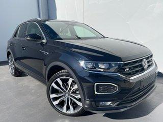 2021 Volkswagen T-ROC A1 MY21 140TSI DSG 4MOTION Sport Deep Black Pearl Effect 7 Speed.
