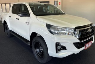 2020 Toyota Hilux GUN136R SR Double Cab 4x2 Hi-Rider White 6 Speed Manual Utility.