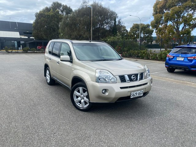 Used Nissan X-Trail T31 MY10 ST-L Mile End, 2010 Nissan X-Trail T31 MY10 ST-L Gold 1 Speed Constant Variable Wagon