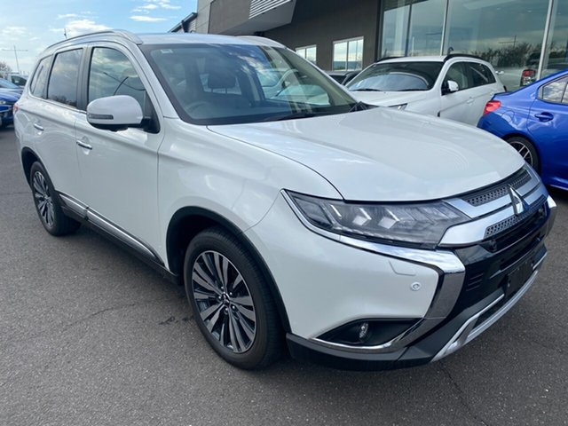 Used Mitsubishi Outlander ZL MY20 Exceed AWD Essendon North, 2019 Mitsubishi Outlander ZL MY20 Exceed AWD White 6 Speed Sports Automatic Wagon