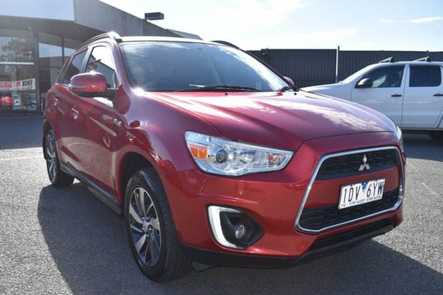 Used Mitsubishi ASX XB MY15 LS 2WD Wantirna South, 2014 Mitsubishi ASX XB MY15 LS 2WD Red 6 Speed Constant Variable Wagon