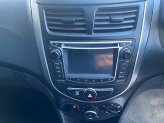 2015 Hyundai Accent RB3 MY16 Active Ultra Black 6 Speed Constant Variable Hatchback