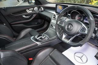 2017 Mercedes-Benz C-Class W205 807+057MY C43 AMG 9G-Tronic 4MATIC Selenite Grey 9 Speed.