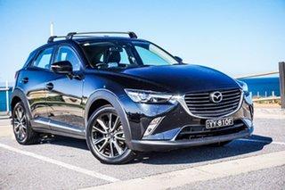 2016 Mazda CX-3 DK2W76 Akari SKYACTIV-MT Black 6 Speed Manual Wagon.