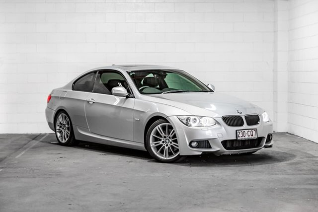 Used BMW 3 Series E92 MY10 320d Steptronic Southport, 2010 BMW 3 Series E92 MY10 320d Steptronic Silver 6 Speed Sports Automatic Coupe