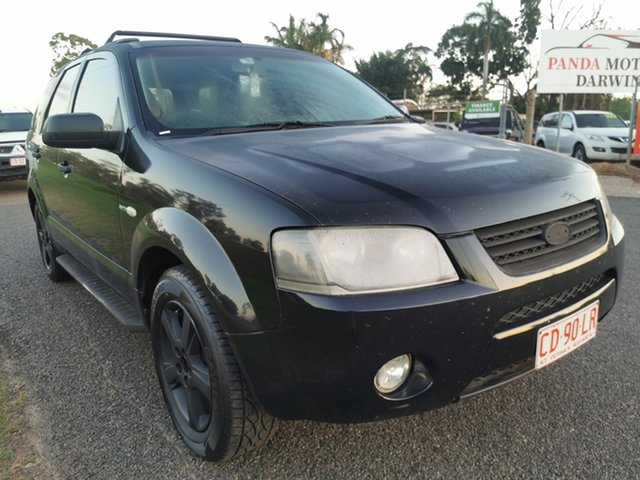 Used Ford Territory SX TX Pinelands, 2005 Ford Territory SX TX Black 4 Speed Sports Automatic Wagon