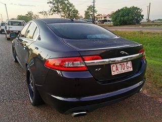 2011 Jaguar XF X250 MY11 Luxury Black 6 Speed Sports Automatic Sedan