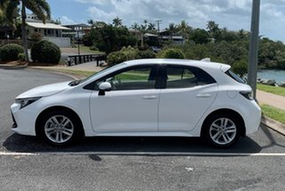 2019 Toyota Corolla Mzea12R Ascent Sport White Automatic Hatchback