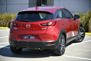 2017 Mazda CX-3 DK4W7A sTouring SKYACTIV-Drive i-ACTIV AWD Red 6 Speed Sports Automatic Wagon
