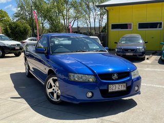 2006 Holden Ute VZ MY06 S Blue 4 Speed Automatic Utility.