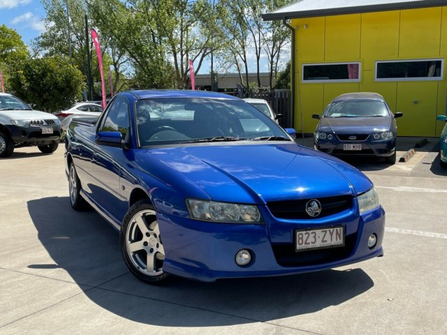 Used Holden Ute VZ MY06 S Toowoomba, 2006 Holden Ute VZ MY06 S Blue 4 Speed Automatic Utility