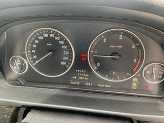 2012 BMW 5 Series F10 MY0712 520d Steptronic Black 8 Speed Sports Automatic Sedan