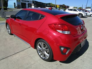 2017 Hyundai Veloster FS5 Series II SR Coupe D-CT Turbo Red 7 Speed Sports Automatic Dual Clutch