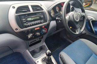 2001 Toyota RAV4 ACA20R Edge Silver 5 Speed Manual Hardtop