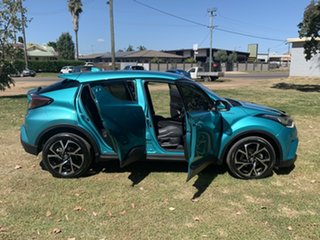 2017 Toyota C-HR NGX10R Koba S-CVT 2WD Electric Teal 7 Speed Constant Variable Wagon