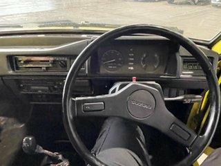 1985 Suzuki Mighty Boy Yellow 4 Speed Manual Utility