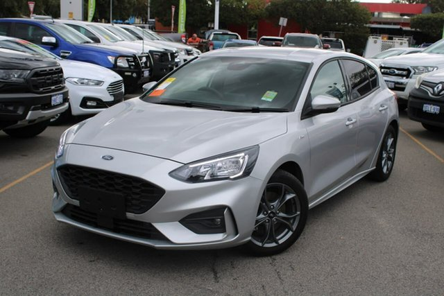 Used Ford Focus SA 2021MY ST-Line Midland, 2020 Ford Focus SA 2021MY ST-Line Silver 8 Speed Automatic Hatchback